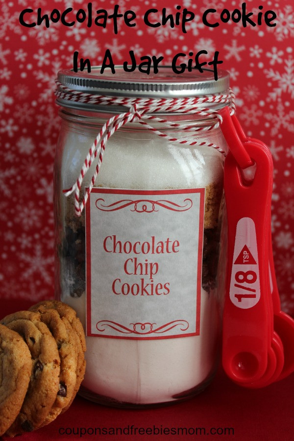 Chocolate Chip Cookies In A Jar  Chocolate Chip Cookie In A Jar Gift Coupons and Freebies Mom