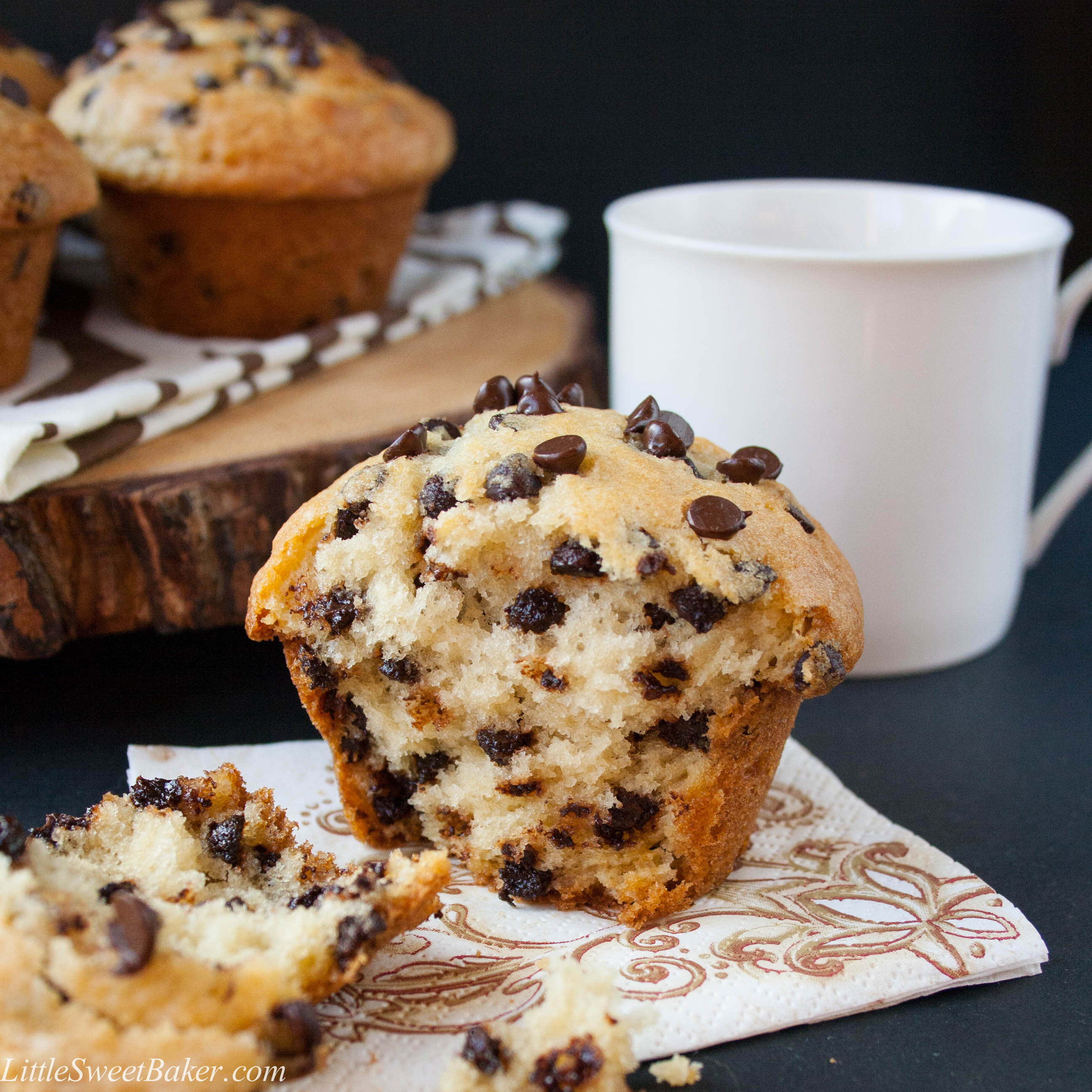 Chocolate Chip Muffins  Amazing Muffin Recipes The Idea Room