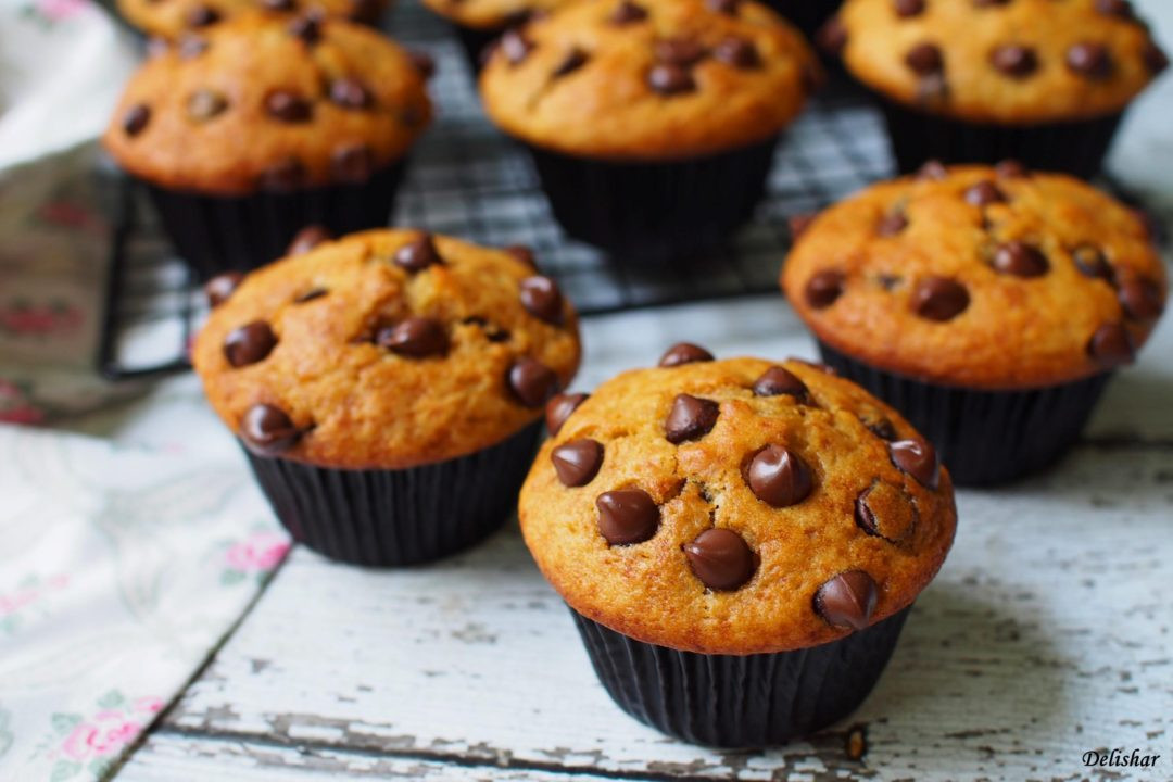 Chocolate Chip Muffins  Easy Chocolate Chips Muffins