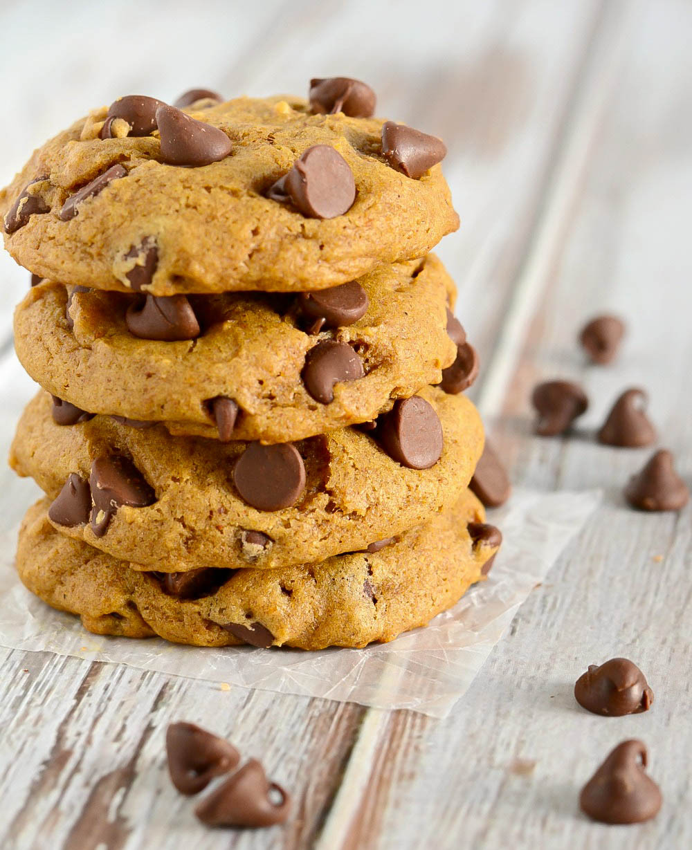 Chocolate Chip Pumpkin Cookies  How to Make Pumpkin Chocolate Chip Cookies Easy & Fluffy