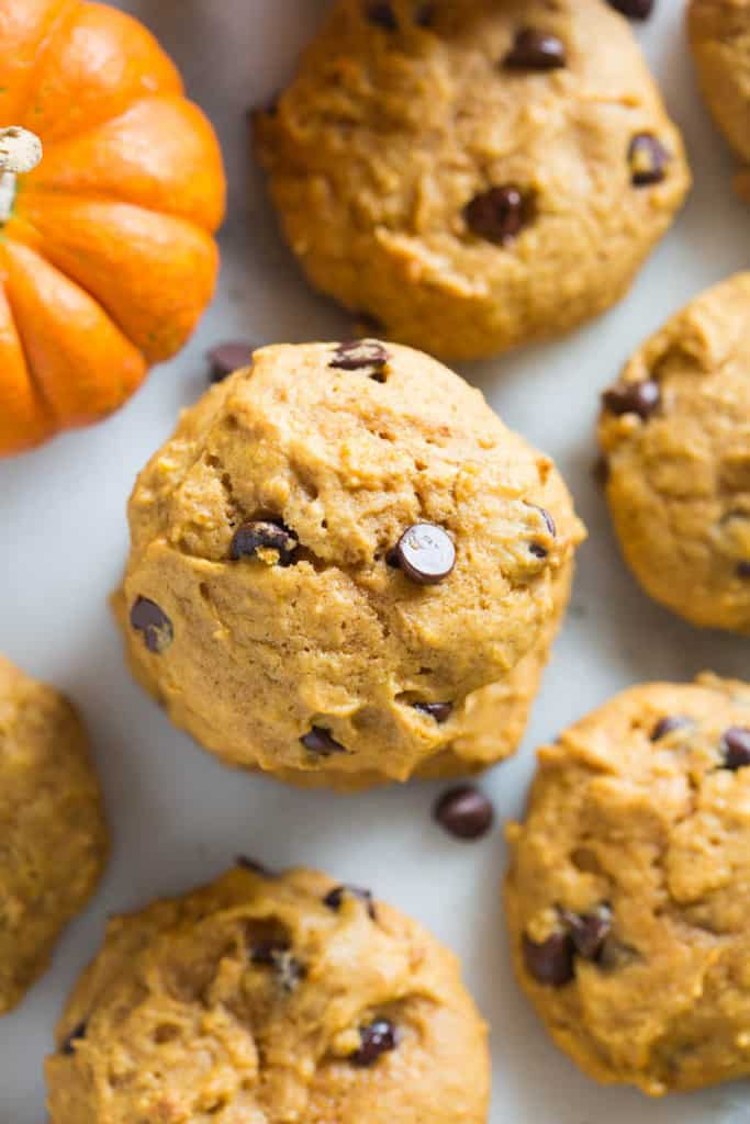 Chocolate Chip Pumpkin Cookies  BEST Pumpkin Chocolate Chip Cookies Tastes Better From