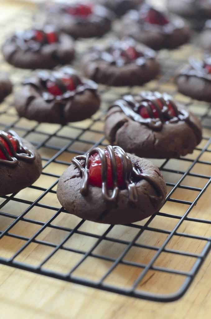 Chocolate Cover Cherry Cookies  Unique Treats for Your Next Holiday Cookie Exchange