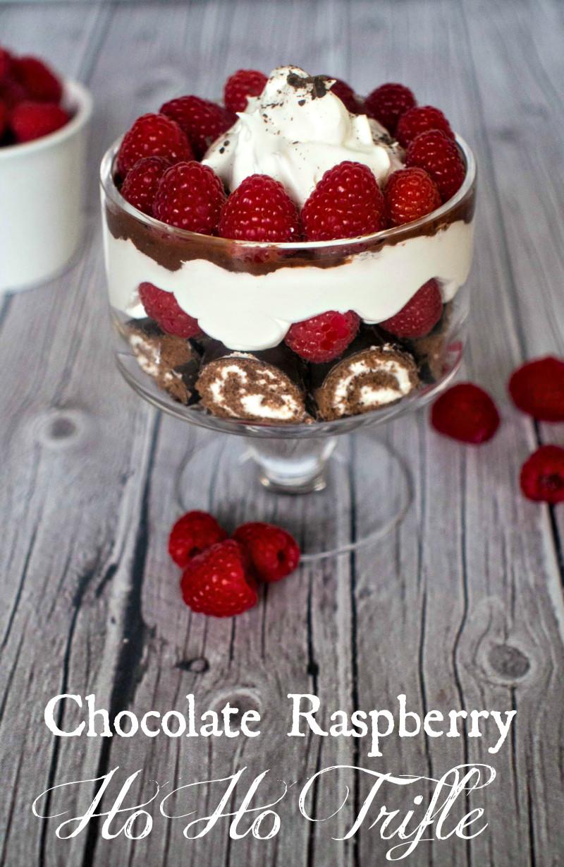 Chocolate Desserts Easy  Chocolate Raspberry Ho Ho Trifle Upstate Ramblings