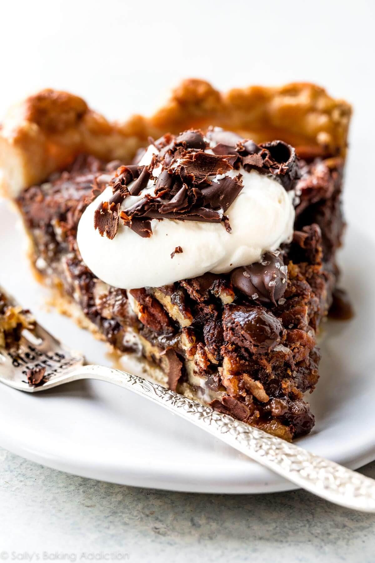 Chocolate Pecan Pie  Dark Chocolate Pecan Pie