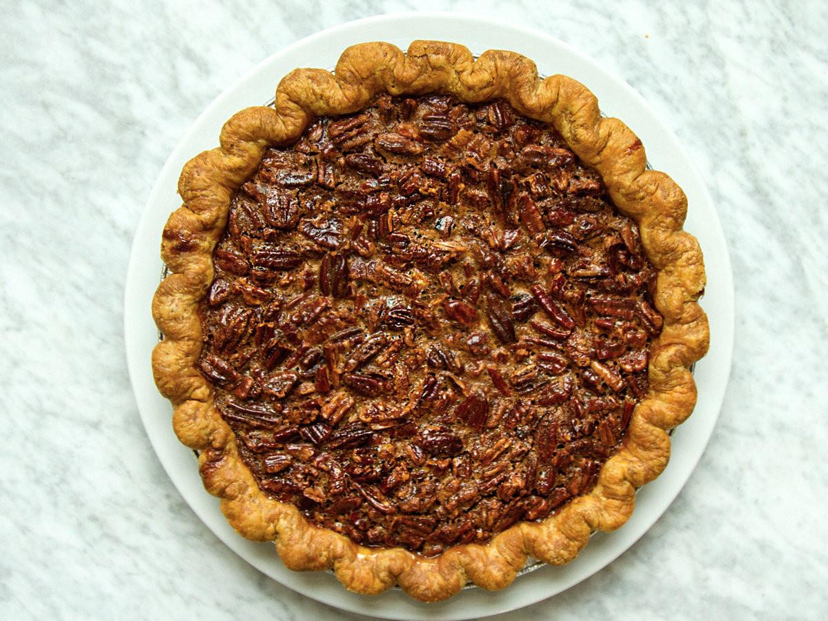Chocolate Pecan Pie  Bittersweet Chocolate Pecan Pie Recipe Emily Elsen