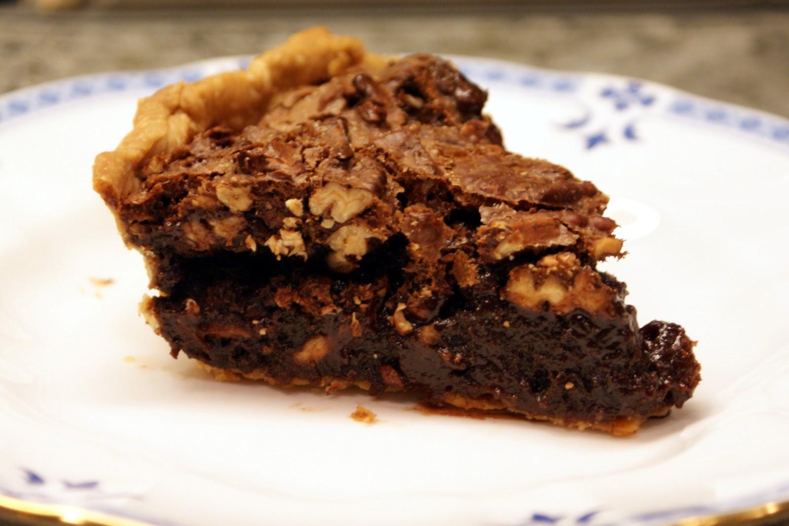 Chocolate Pecan Pie  The Baker s Mann Chocolate Pecan Pie