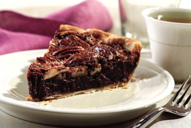 Chocolate Pecan Pie  Chocolate Pecan Pie Kraft Recipes