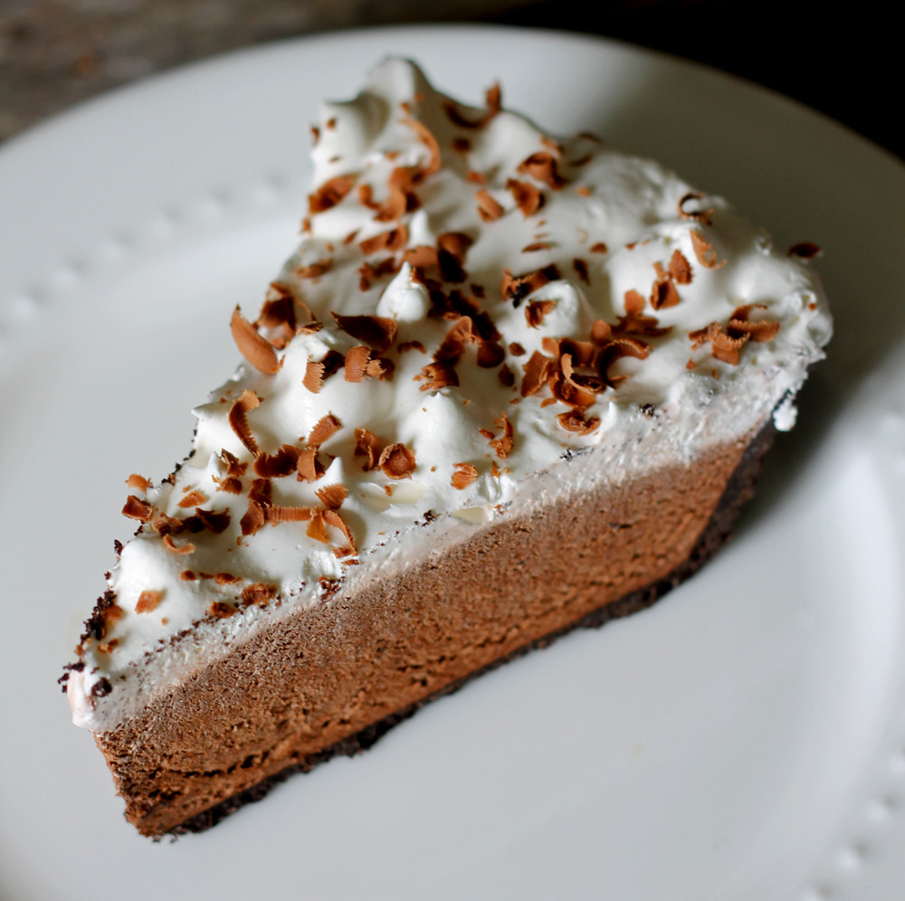Chocolate Pie With Cocoa  Chocolate Pie an easy five minute recipe