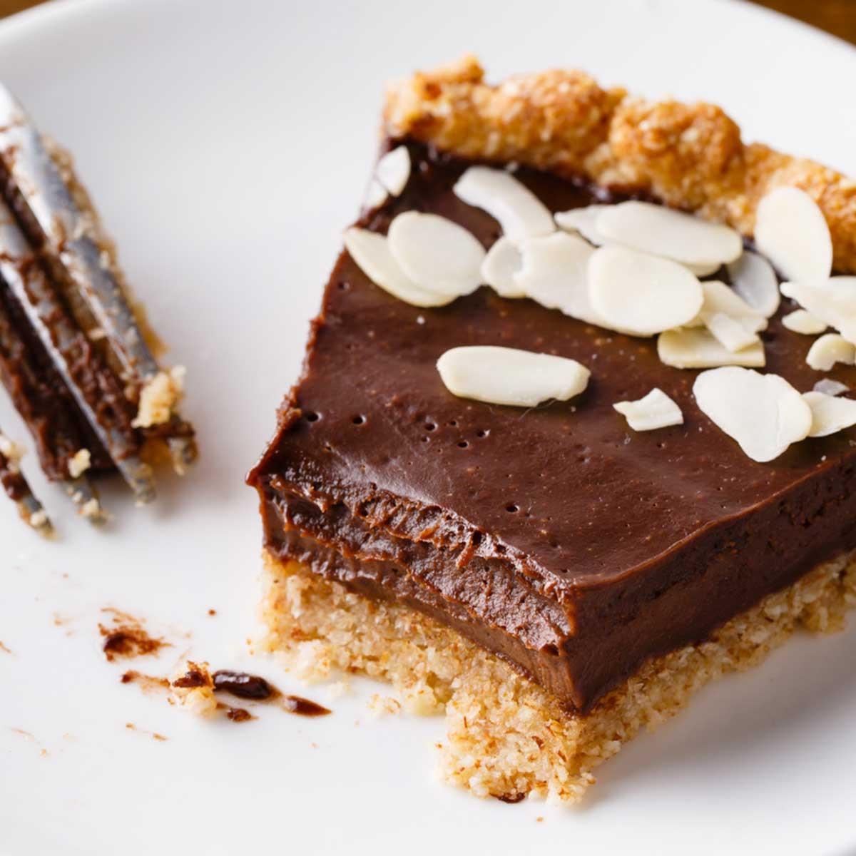 Chocolate Pie With Cocoa  Dark Chocolate Paleo Pie with Homemade Crust