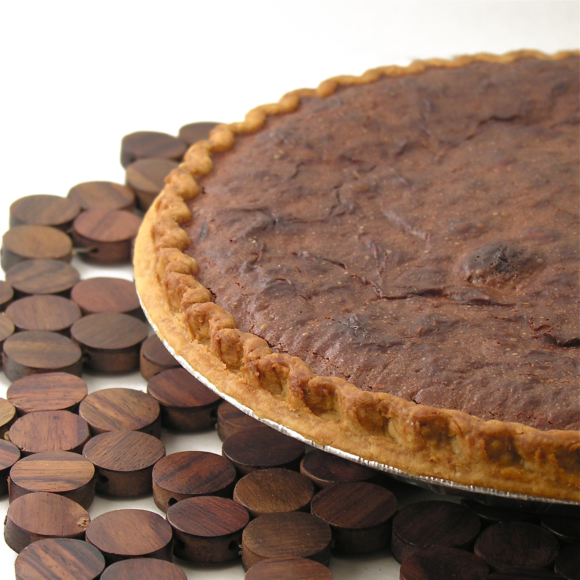 Chocolate Pie With Cocoa  German Chocolate Pie
