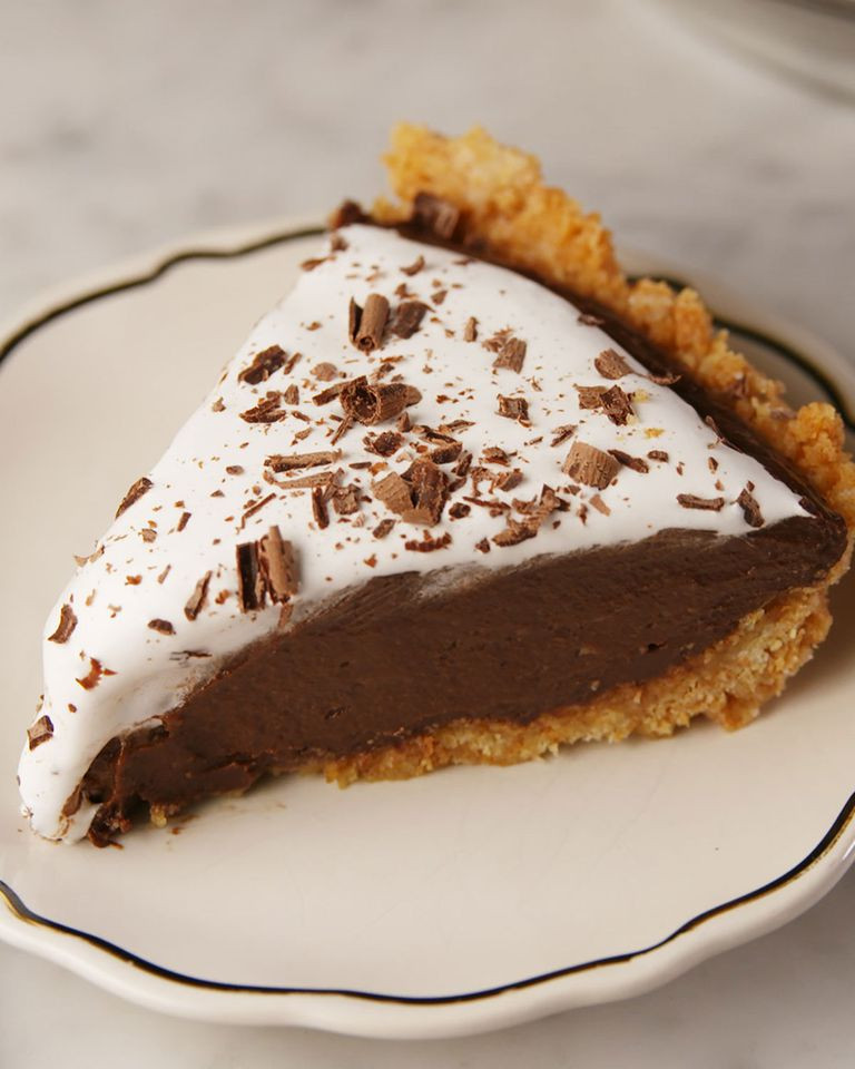 Chocolate Pie With Cocoa  20 Hot Chocolate Dessert Recipes Hot Cocoa Desserts