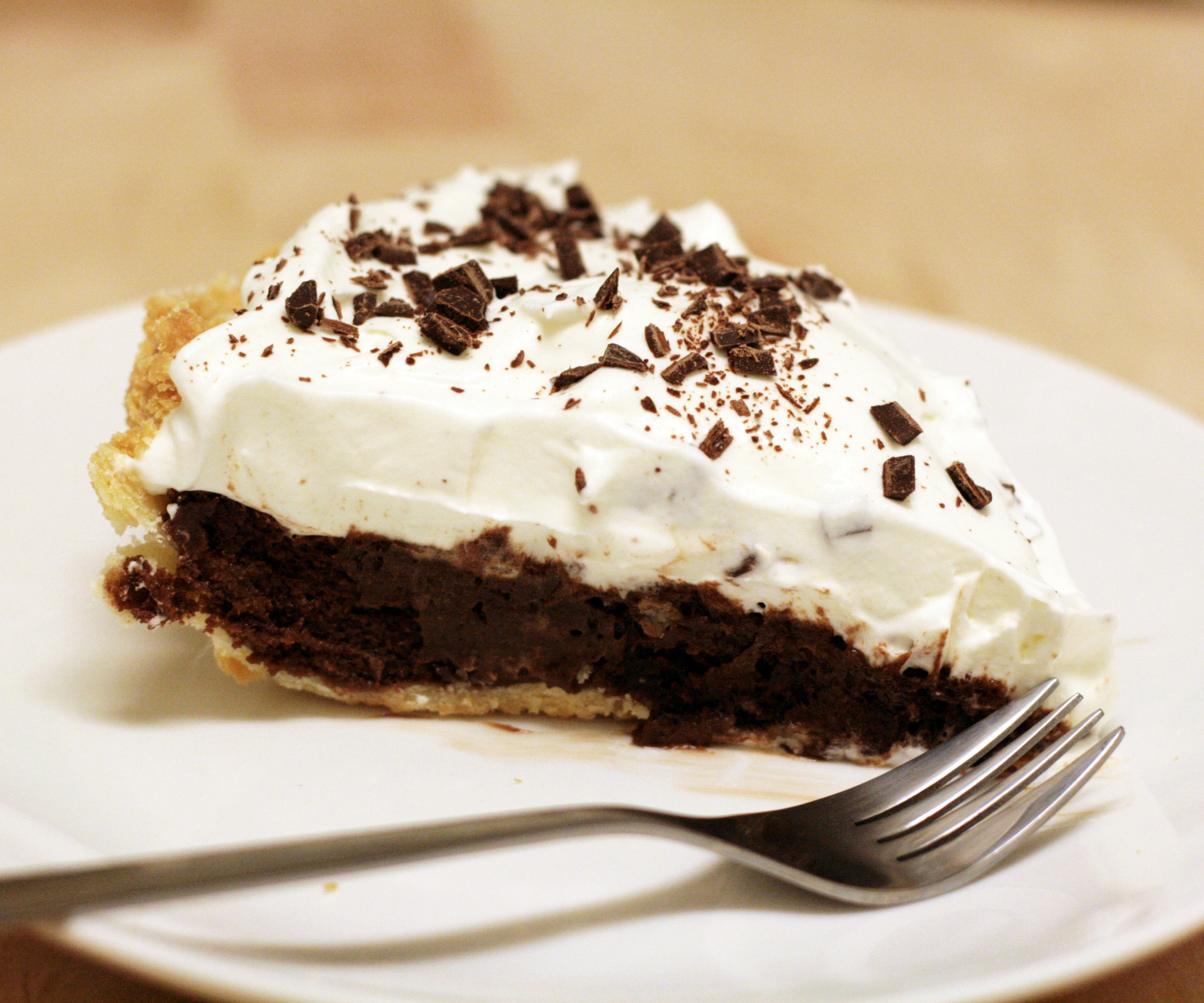 Chocolate Pie With Cocoa  Chocolate Pie