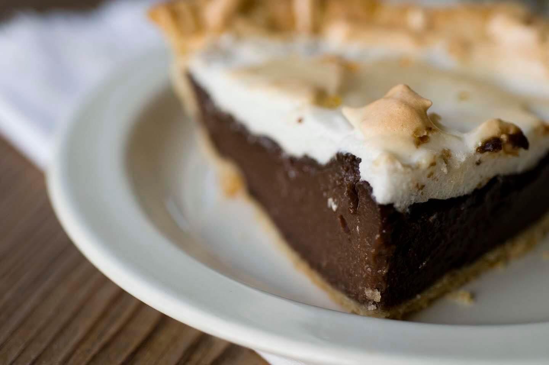 Chocolate Pie With Cocoa  Grandma's chocolate pie