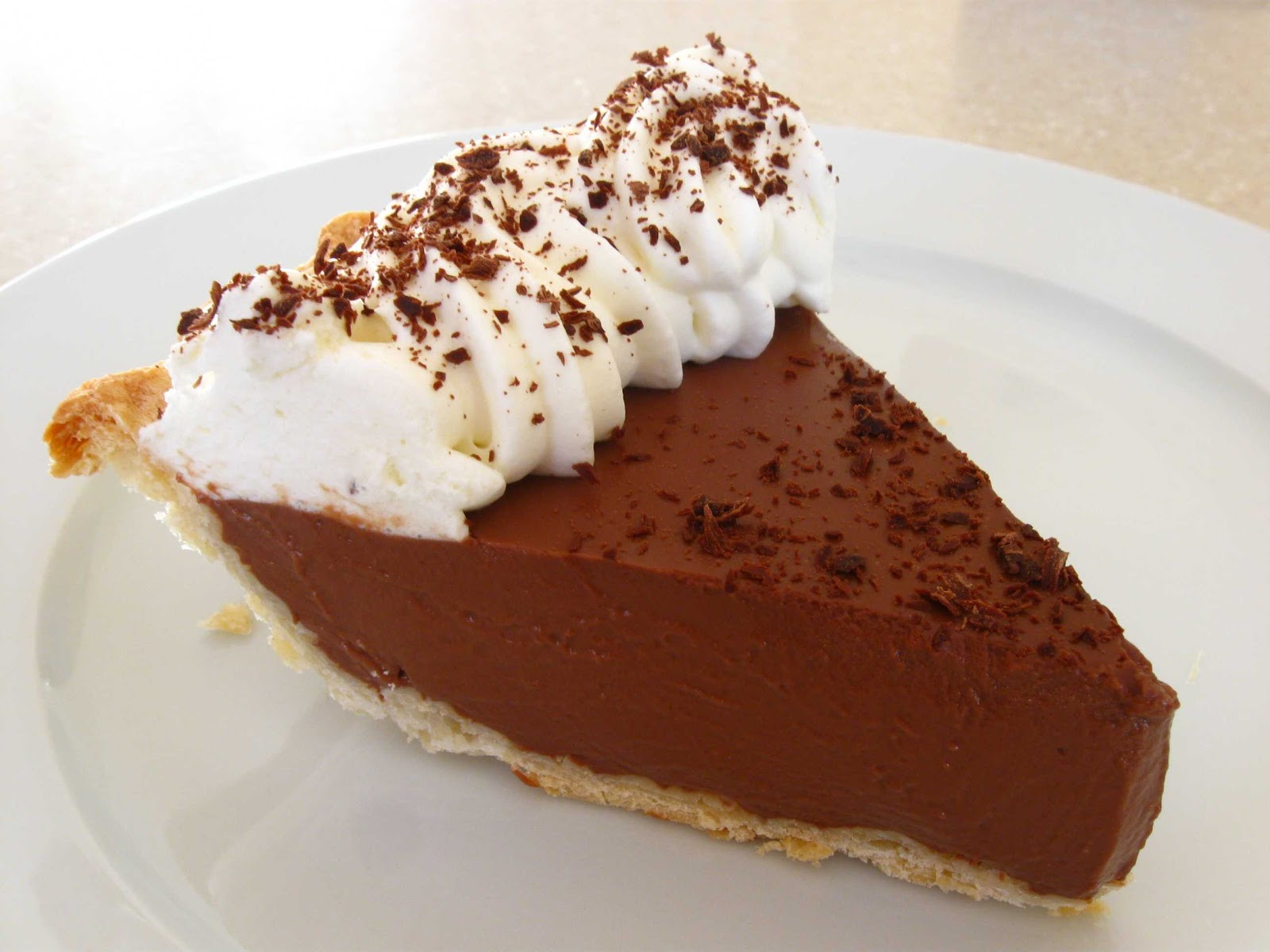 Chocolate Pie With Cocoa  Cooking From Scratch Chocolate Pie
