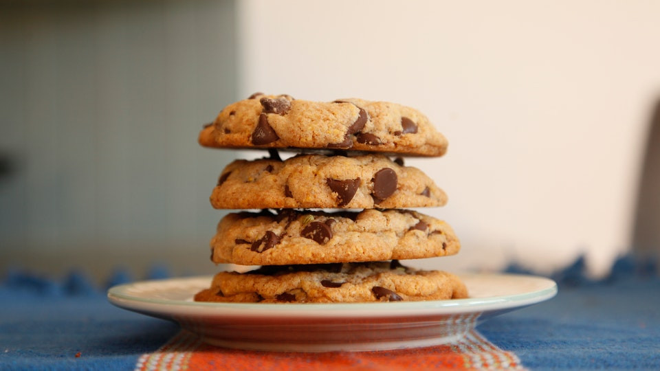 Chocolate Ship Cookies  Cornmeal Chocolate Chip Cookies With Fennel Seeds Recipe