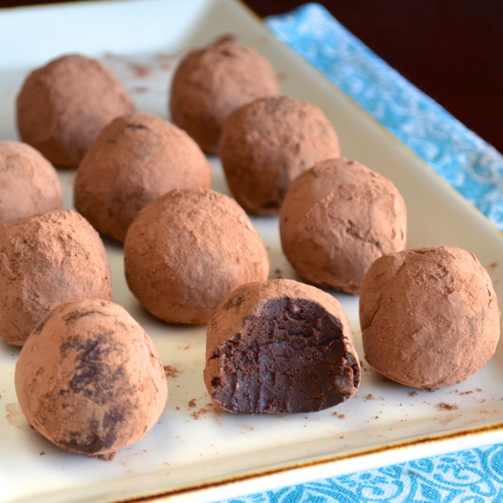 Chocolate Truffle Desserts  Healthy and Low Calorie Desserts