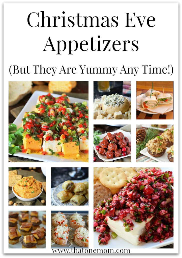 Christmas Appetizers 2017  Christmas Eve Appetizers ⋆ That e Mom