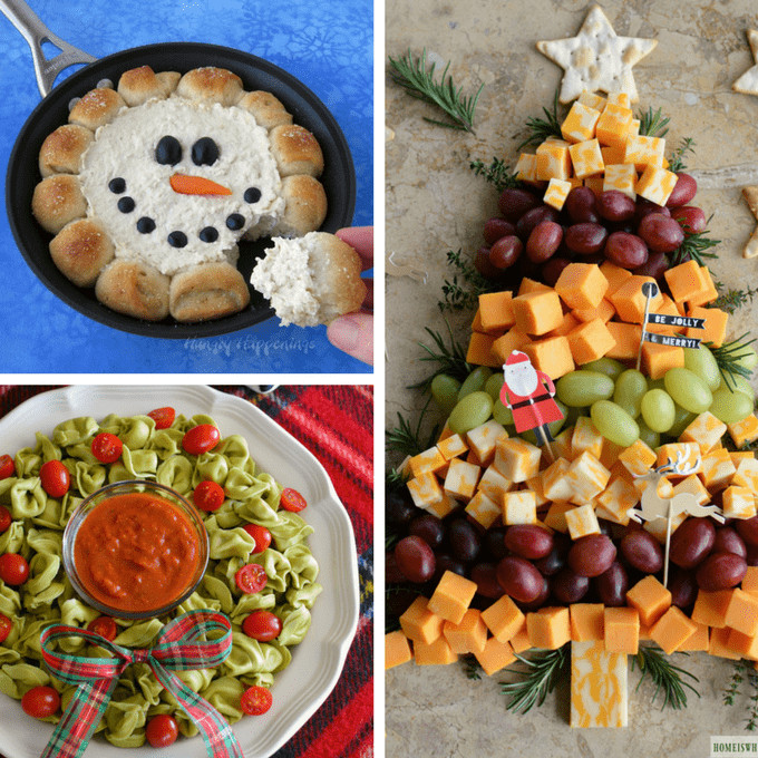 Christmas Appetizers 2017  CHRISTMAS APPETIZERS 20 creative and fun holiday appetizers