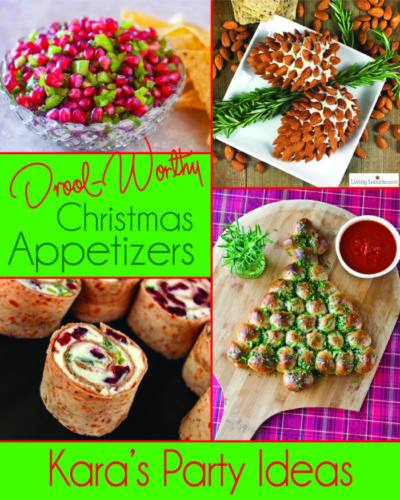 Christmas Appetizers 2017  Kara s Party Ideas 10 Drool Worthy Christmas Appetizers