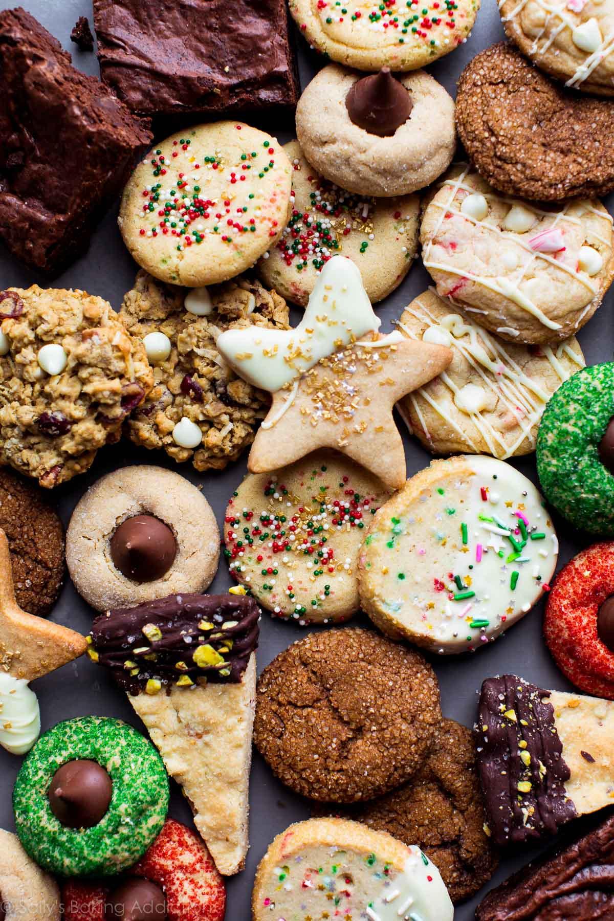 Christmas Baking Reciepes  50 Fun and Festive Christmas Cookies Sallys Baking