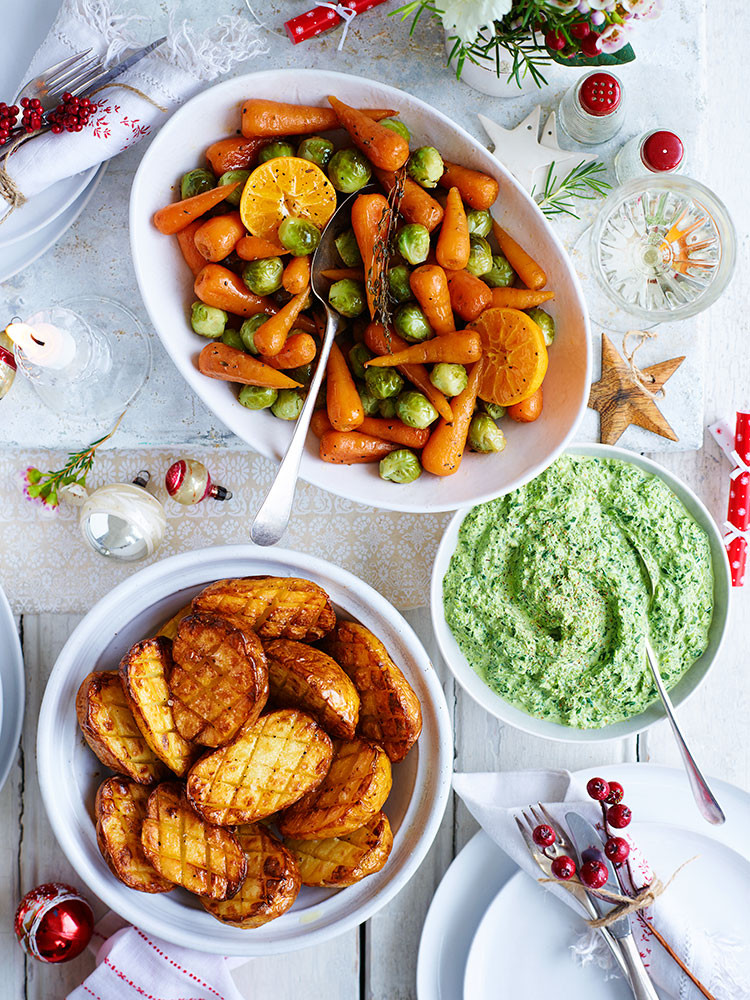 Christmas Dinner Sides  Easy Christmas dinner for beginners with all the Xmas