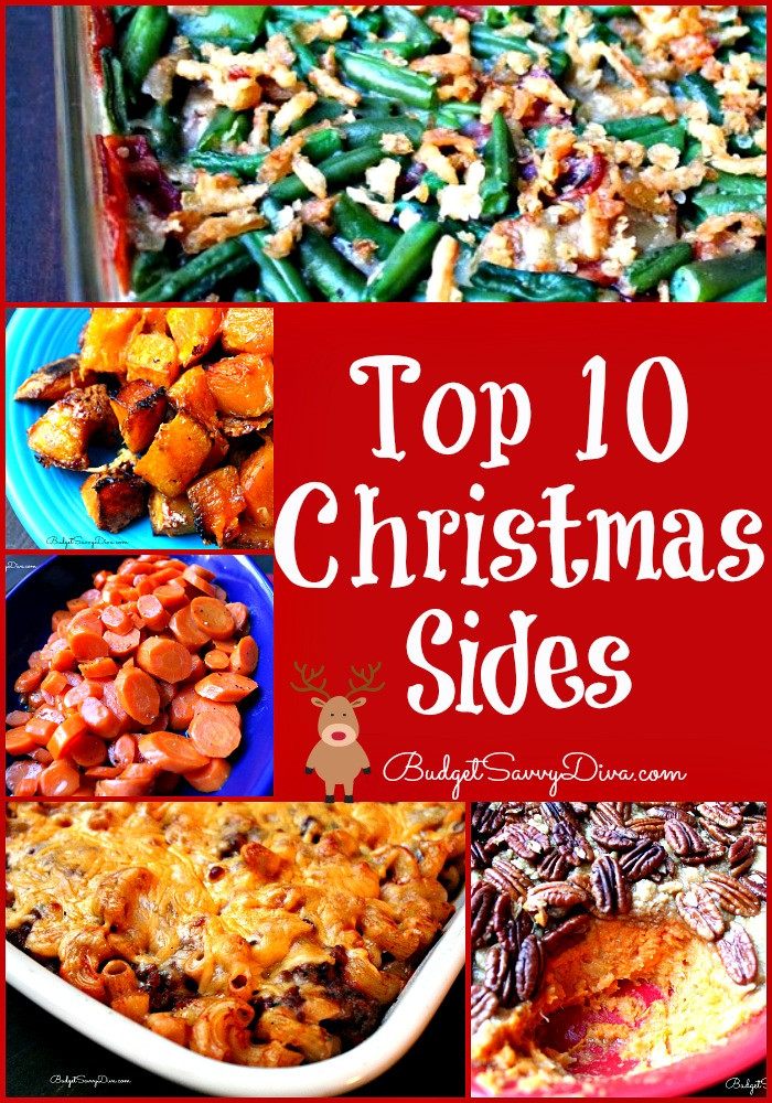 Christmas Dinner Sides  Top 10 Christmas Sides Recipes