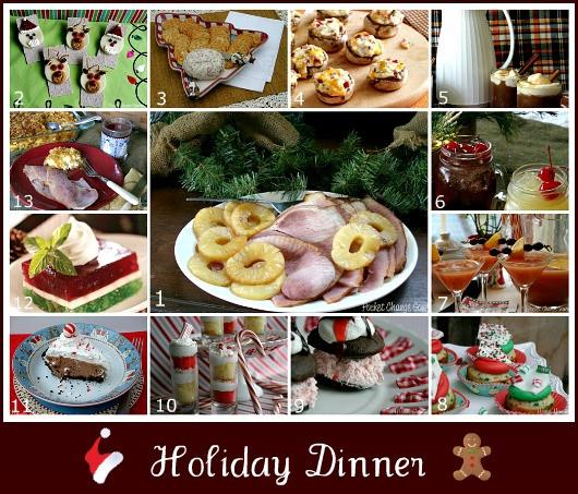 Christmas Ham Dinners  Christmas Dinner Menu Recipe