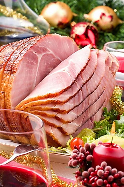 Christmas Ham Dinners  Apple Baked Christmas Ham – Original Good Dinner Menu