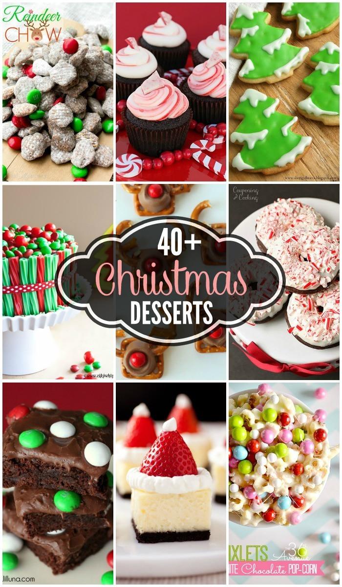 Christmas Recipes Desserts  Christmas Desserts