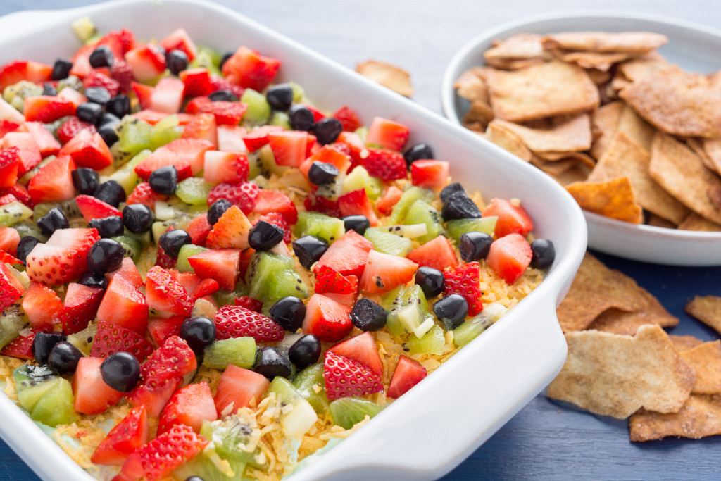 "Cinco De Mayo Desserts Recipe  Layered Dessert ""Taco"" Dip for Cinco de Mayo"