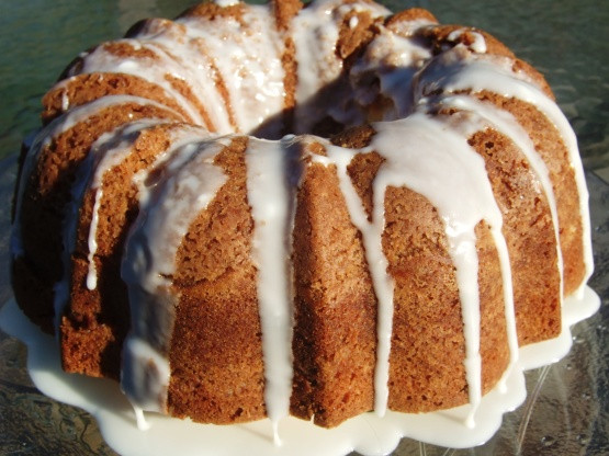 Cinnamon Bundt Cake  Cinnamon Streusel Bundt Cake Recipe Genius Kitchen