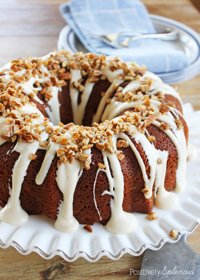 Cinnamon Bundt Cake  Cinnamon Roll Bundt Cake Recipe