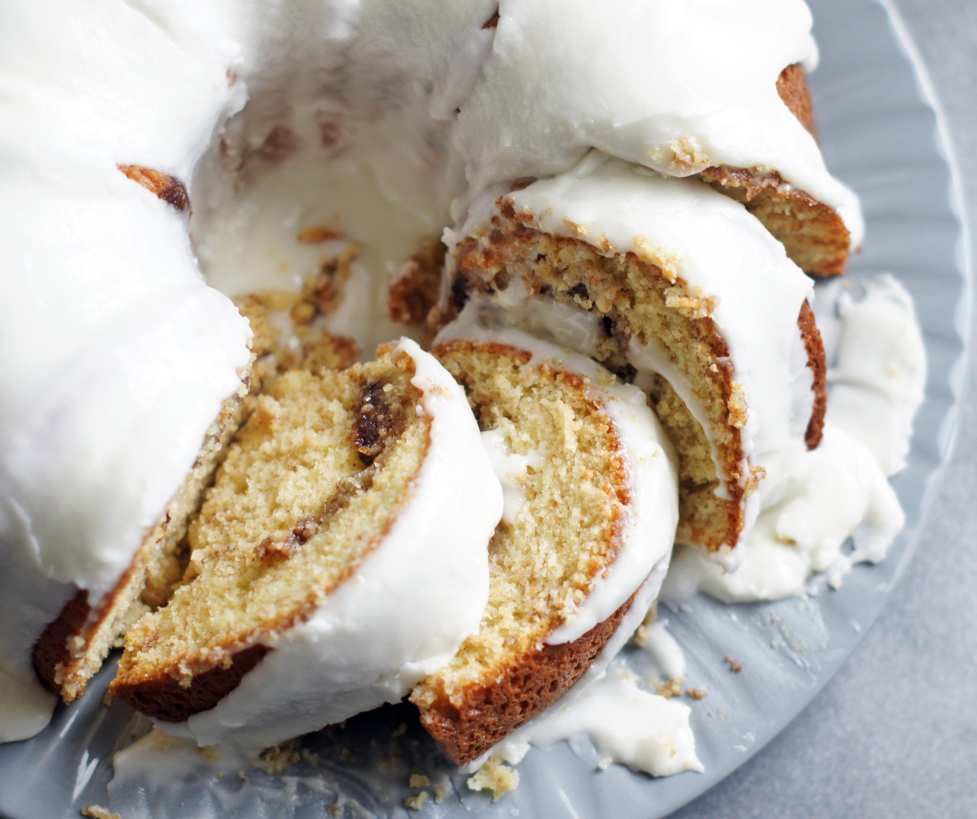 Cinnamon Bundt Cake  Cinnamon Roll Bundt Cake 5 Boys Baker