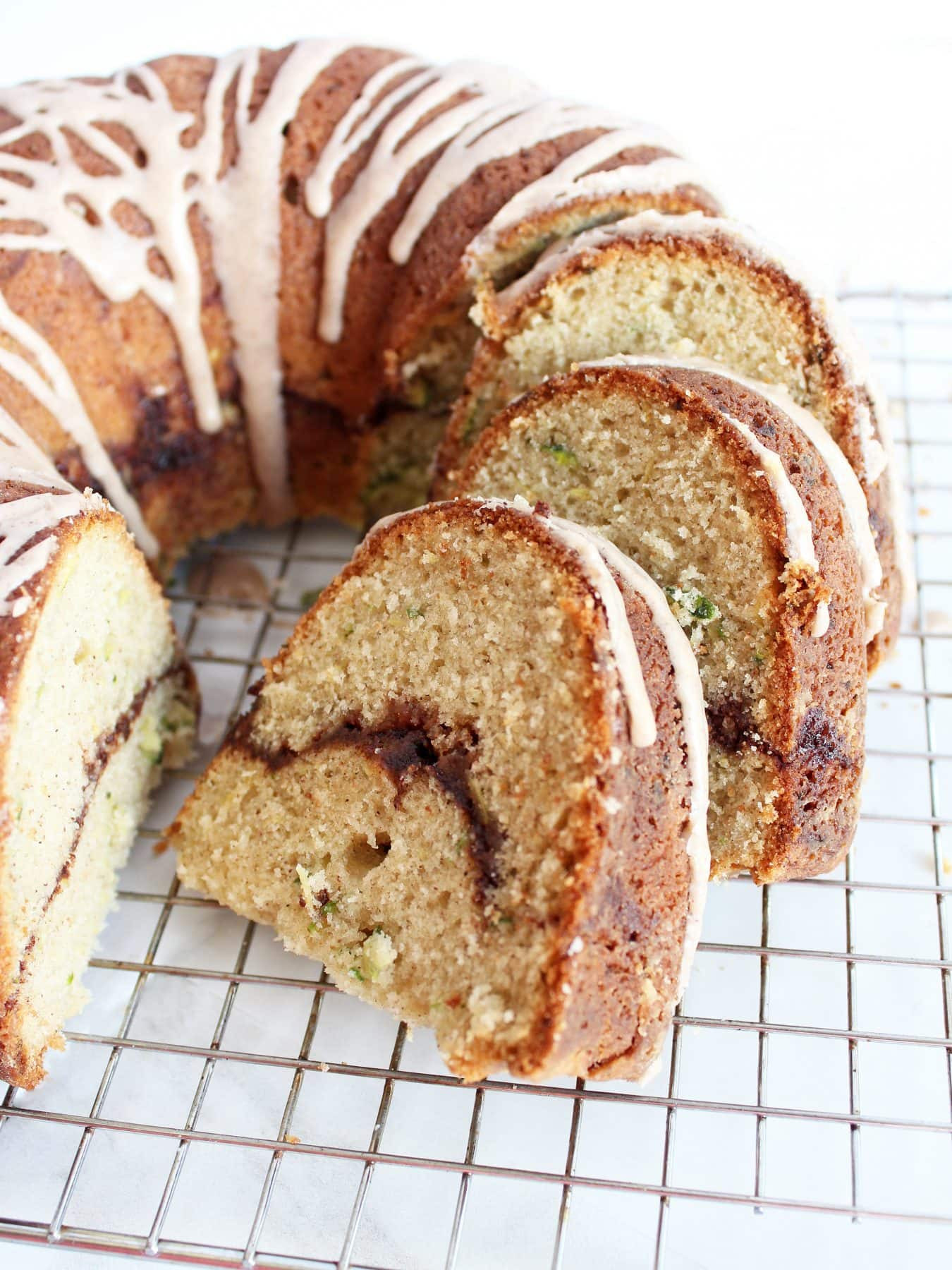 Cinnamon Bundt Cake  Cinnamon Zucchini Bundt Cake If You Give a Blonde a Kitchen