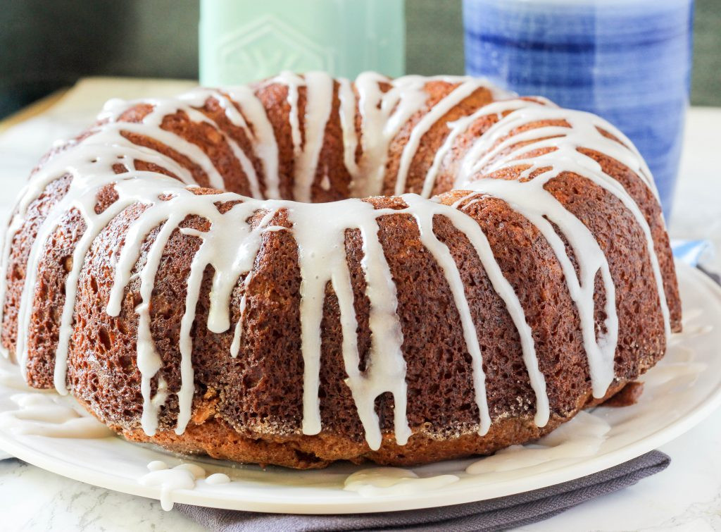 Cinnamon Bundt Cake  Cinnamon Pecan Breakfast Bundt Cake Blackberry Babe
