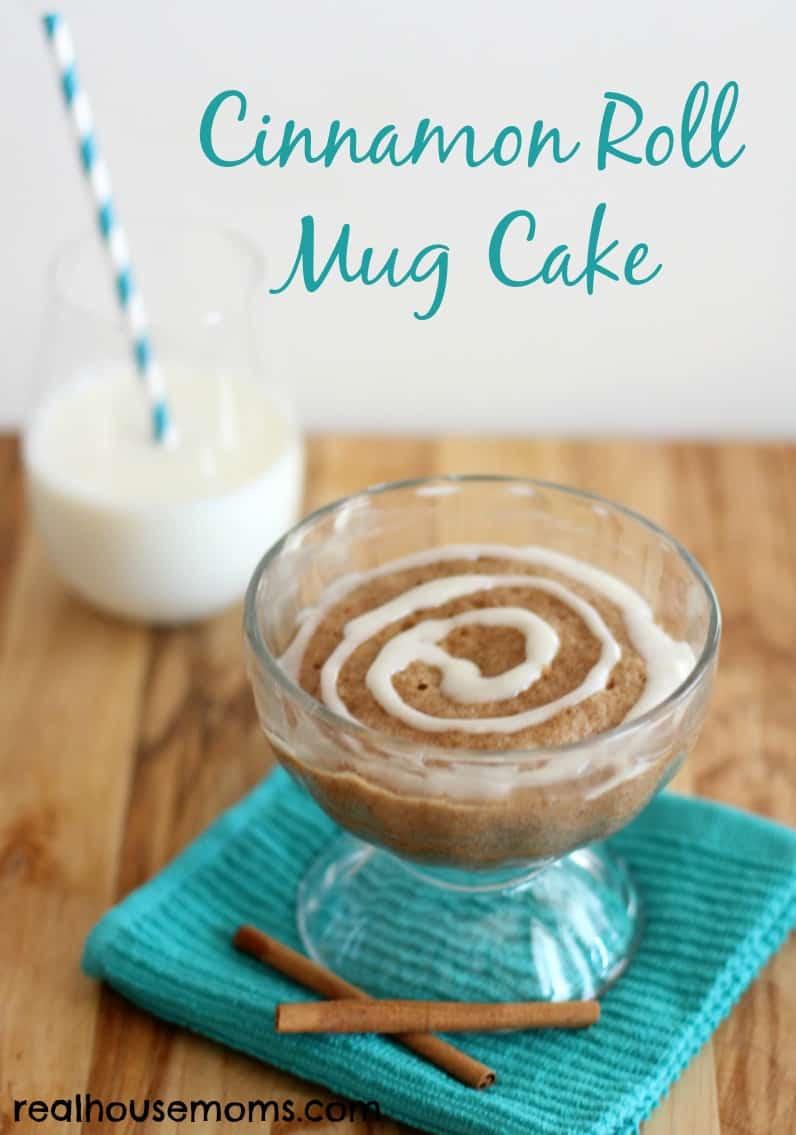 Cinnamon Mug Cake  Cinnamon Roll Mug Cake