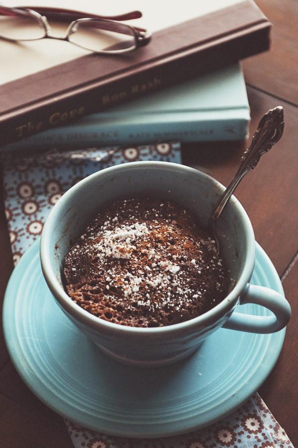 Cinnamon Mug Cake  5 Minute Chocolate Cinnamon Mug Cake