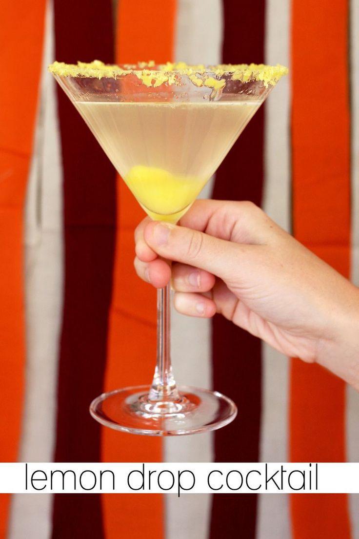Citrus Vodka Drinks  1000 images about Lemon Drop Party on Pinterest