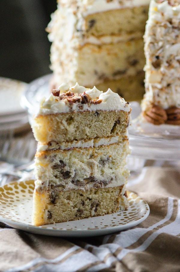 Classic Italian Desserts  Italian Cream Cheesecake • The Crumby Kitchen