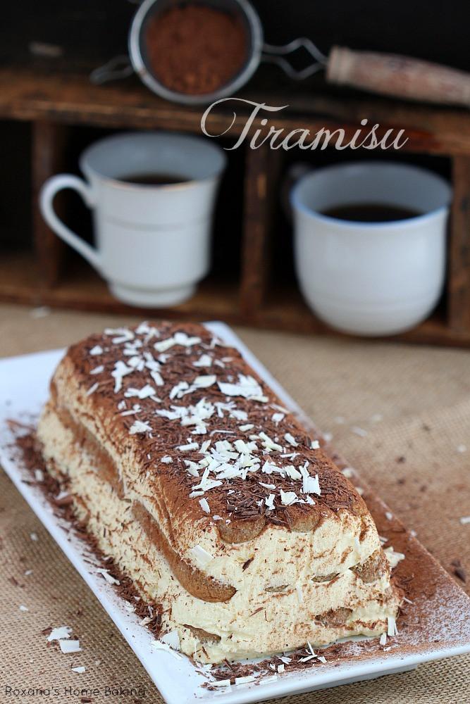 Classic Italian Desserts  Tiramisu recipe