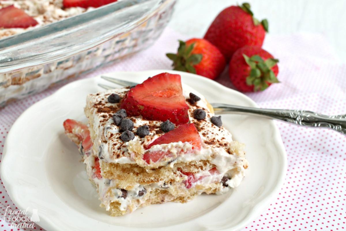 Classic Italian Desserts  Frugal Foo Mama Strawberry Cannoli Tiramisu
