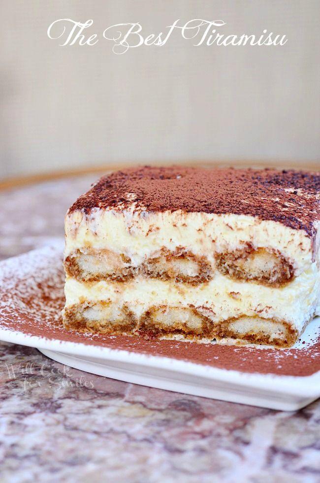 Classic Italian Desserts  Amazing classic dessert Tiramisu is made with layers of