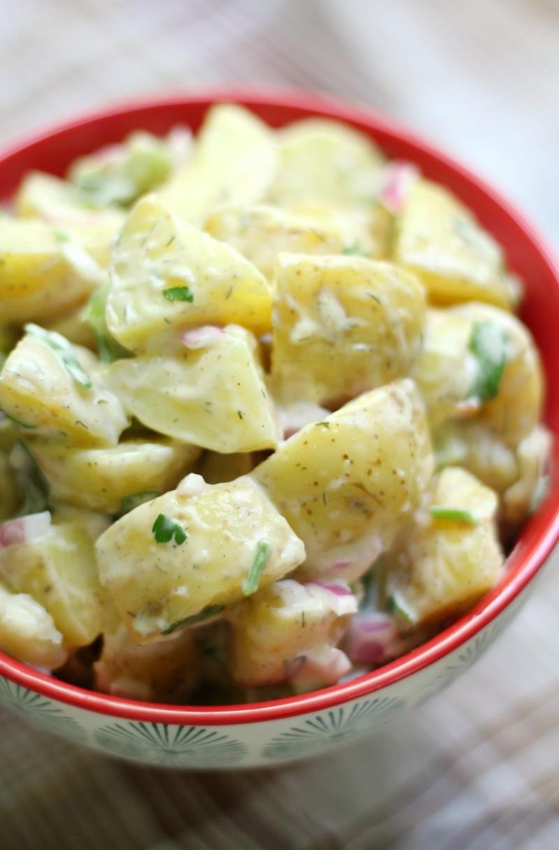 Classic Potato Salad  Classic American Potato Salad Gluten Free Vegan