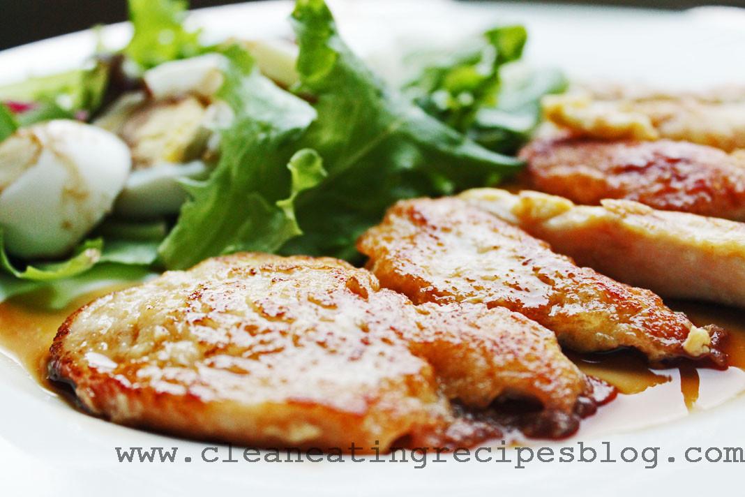 Clean Dinner Recipes  Clean Eating Dinner Recipe – Flour less Chicken Strips