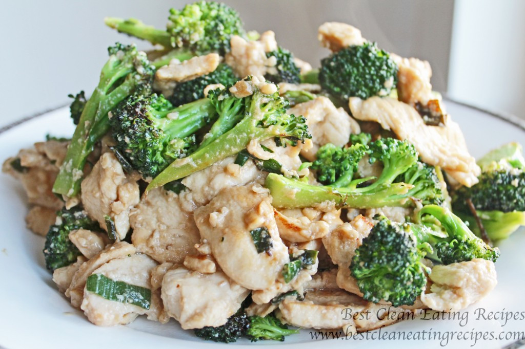 Clean Dinner Recipes  Clean Eating Recipe – Broccoli Chicken Stir Fry