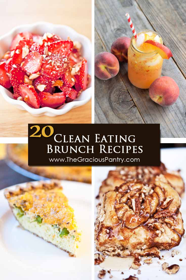 Clean Eat Breakfast Recipes  20 Clean Eating Brunch Recipes