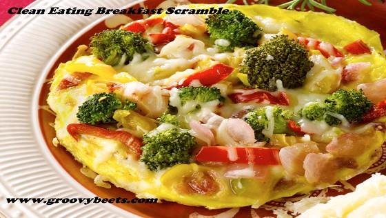Clean Eat Breakfast Recipes  Clean Eating Breakfast Scramble GroovyBeets