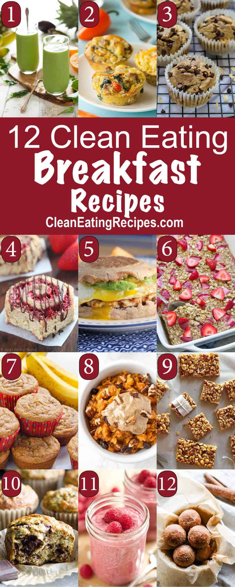 Clean Eat Breakfast Recipes  12 Clean Eating Breakfast Ideas from Other Bloggers