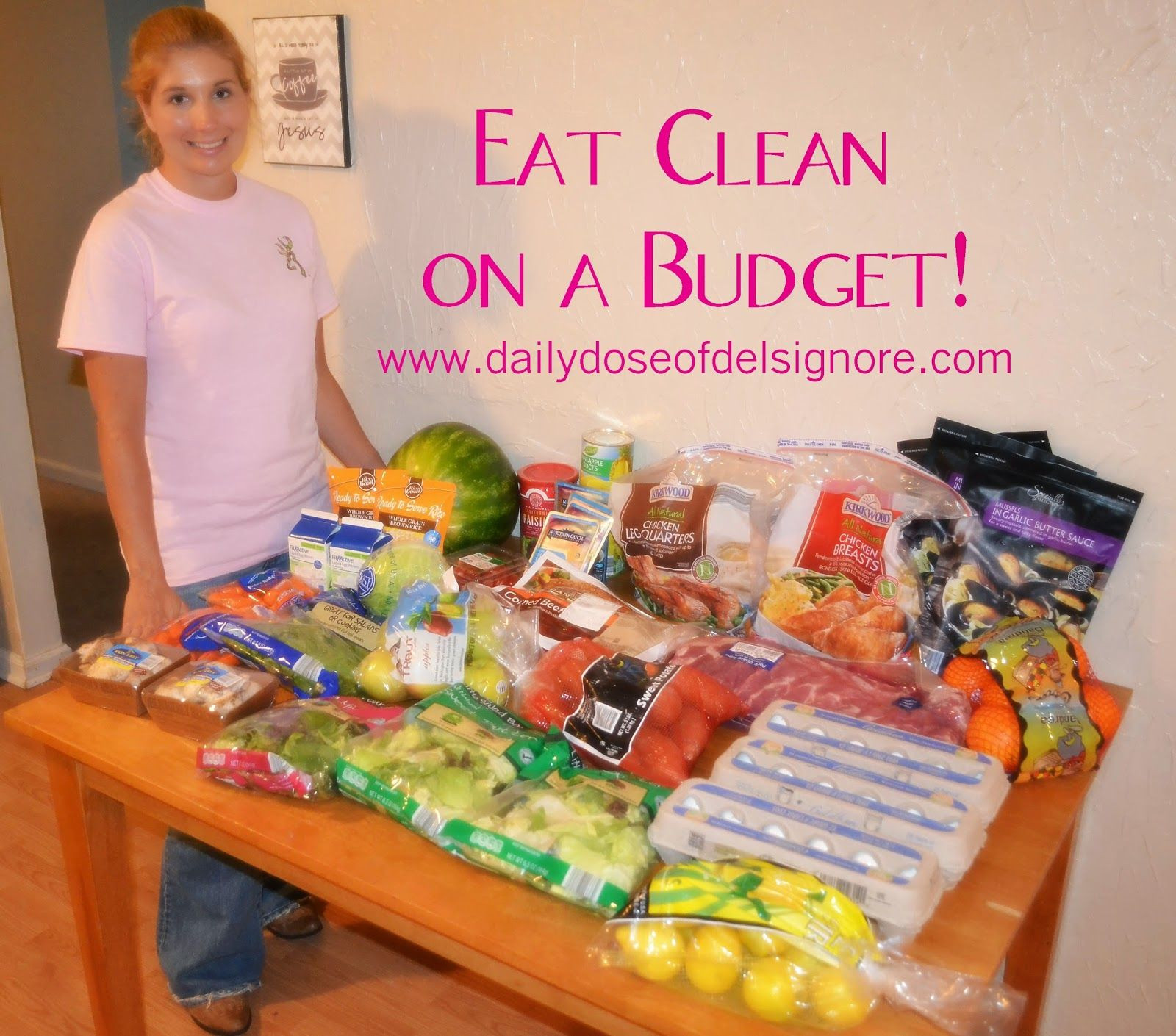 Clean Eating Meal Plan On A Budget  Eat Clean on a Bud Menu and Shopping List