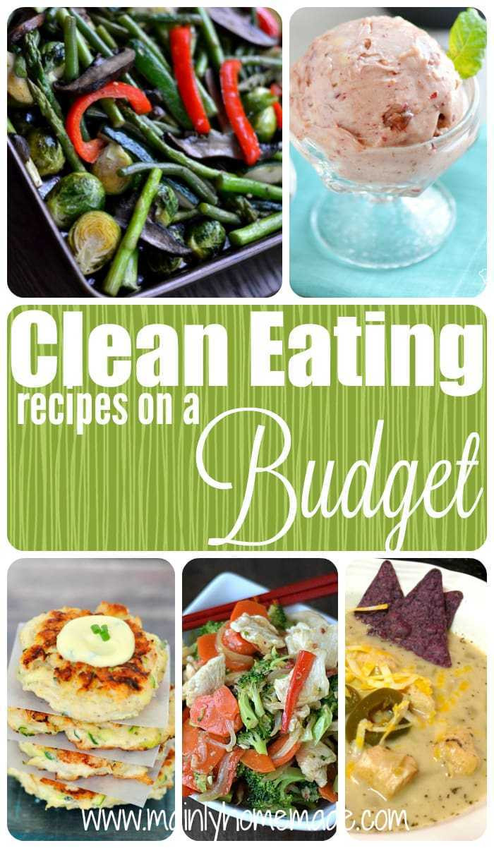 Clean Eating Meal Plan On A Budget  Clean Eating Recipes on a Bud